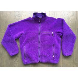Vintage Patagonia deep pile retro x fleece jacket